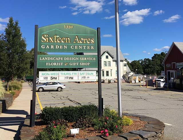 Sixteen Acres Garden Center   Nursery, Floral And Gift Shop