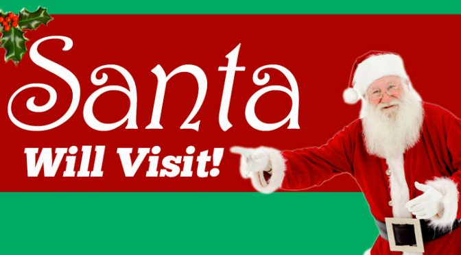 Visit With Santa – Come Celebrate With Us